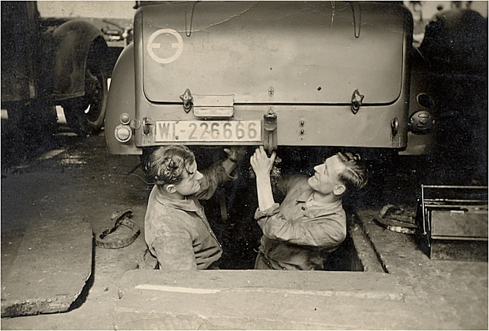 Lib ration de colmar 2 f vrier 1945 le t moignage d for Garage auto colmar